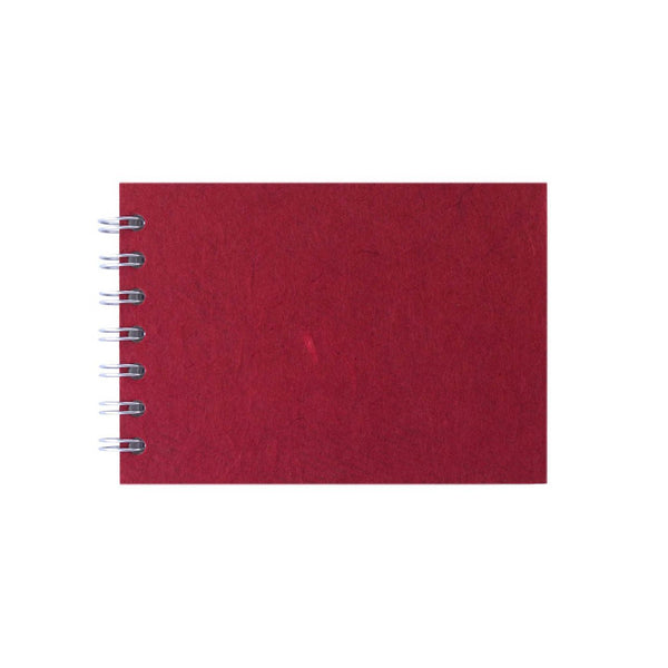 A6 Landscape, Red Sketchbook by Pink Pig International