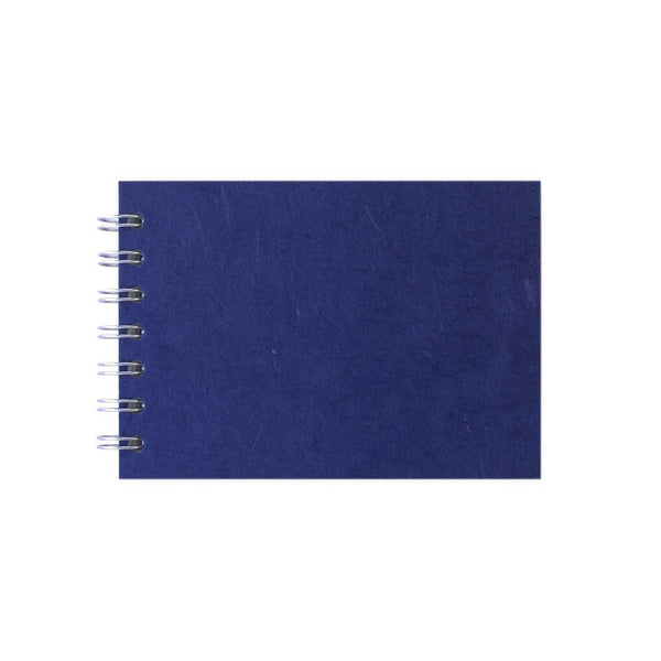 A6 Landscape, Royal Blue Sketchbook by Pink Pig International