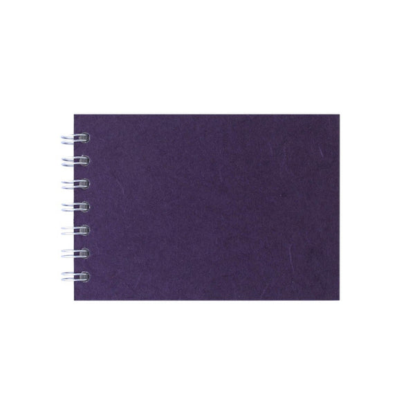 A6 Landscape, Aubergine Sketchbook by Pink Pig International