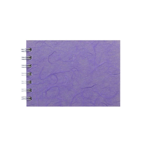A6 Landscape, Lilac Sketchbook by Pink Pig International