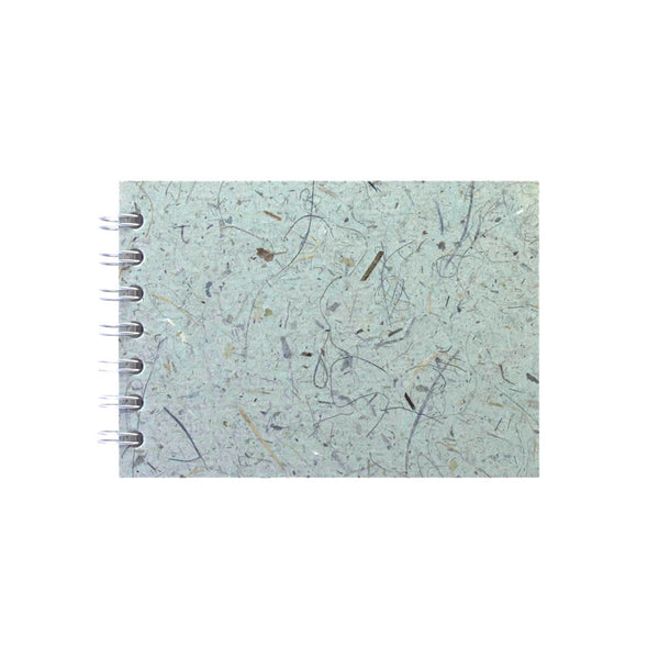 A6 Landscape, Sea Grey Sketchbook by Pink Pig International