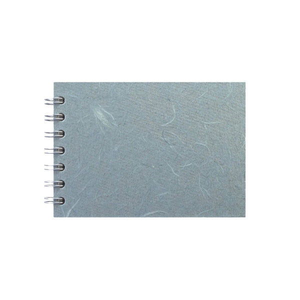 A6 Landscape, Pale Blue Sketchbook by Pink Pig International