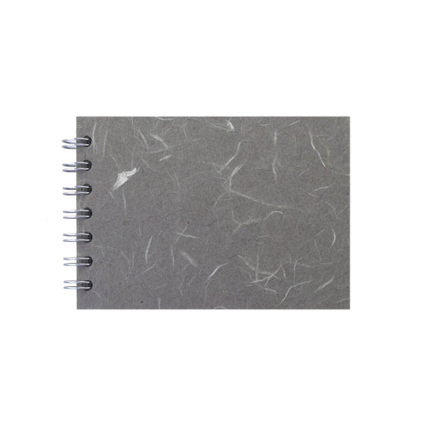 A6 Landscape, Pale Grey Sketchbook by Pink Pig International