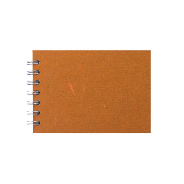 A6 Landscape, Orange Sketchbook by Pink Pig International