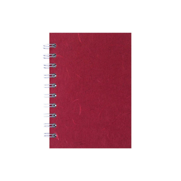 A6 Portrait, Red Notebook by Pink Pig International