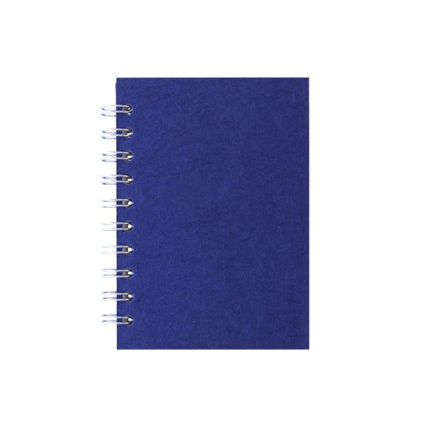 A6 Portrait, Royal Blue Notebook by Pink Pig International
