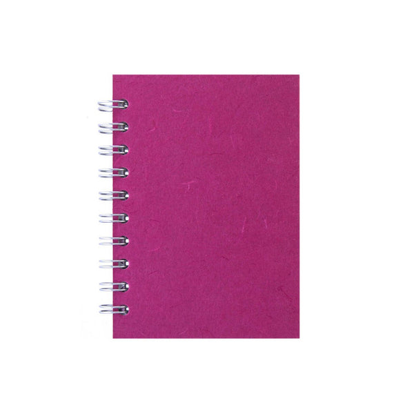 A6 Portrait, Bright Pink Sketchbook by Pink Pig International