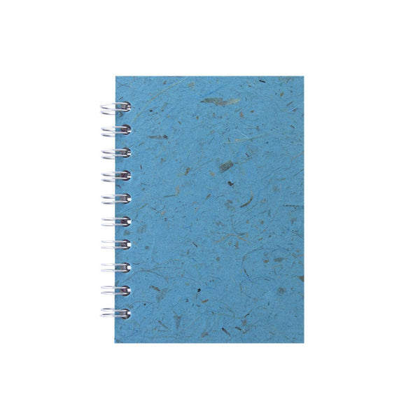 A6 Portrait, Sky Blue Sketchbook by Pink Pig International