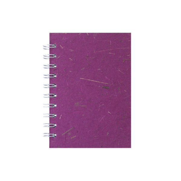 A6 Portrait, Berry Notebook by Pink Pig International