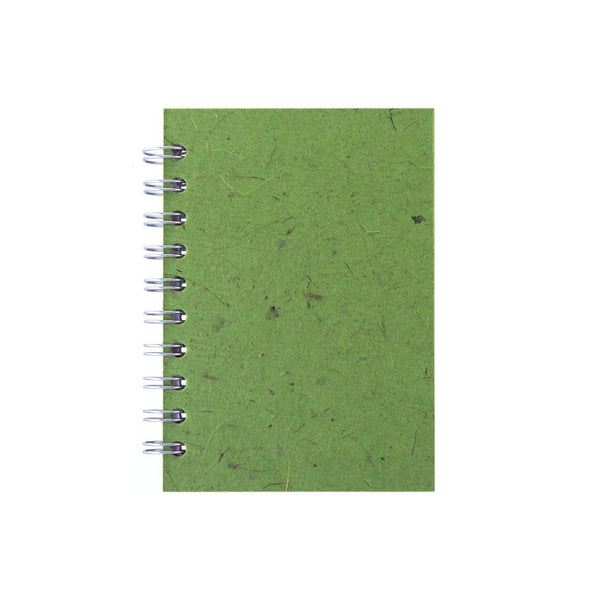 A6 Portrait, Emerald Notebook by Pink Pig International