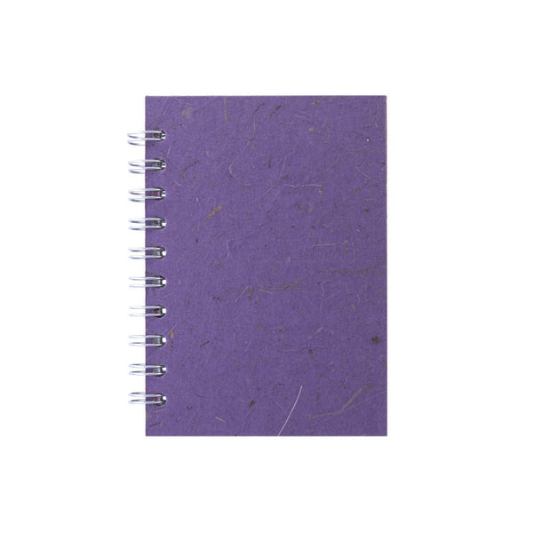 A6 Portrait, Amethyst Notebook by Pink Pig International