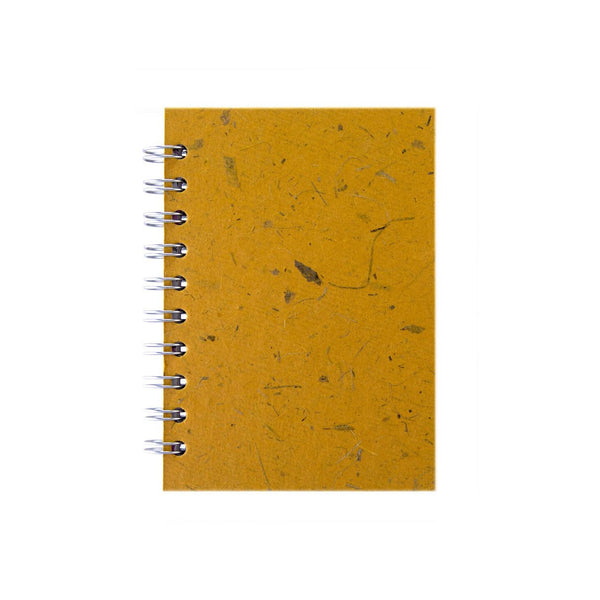 A6 Portrait, Amber Notebook by Pink Pig International