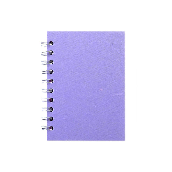 A6 Portrait, Lilac Notebook by Pink Pig International