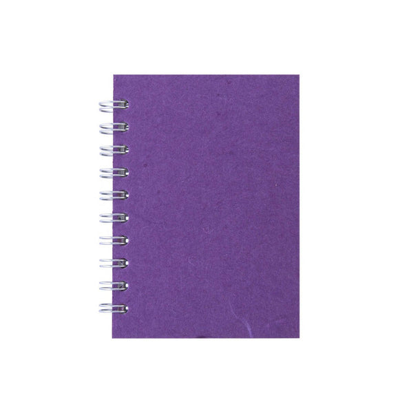 A6 Portrait, Purple Notebook by Pink Pig International