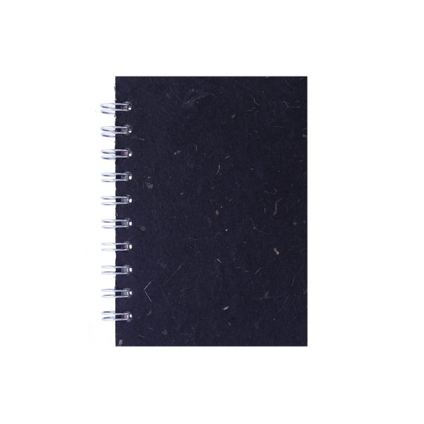 A6 Portrait, Ebony Notebook by Pink Pig International