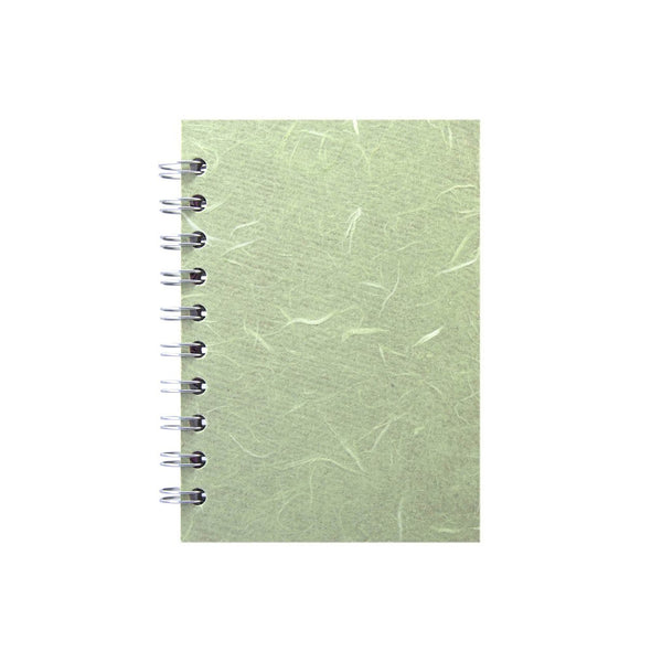 A6 Portrait, Mint Notebook by Pink Pig International