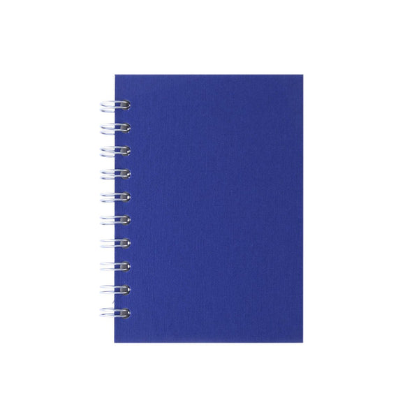 A6 Portrait, Eco Blue Notebook by Pink Pig International