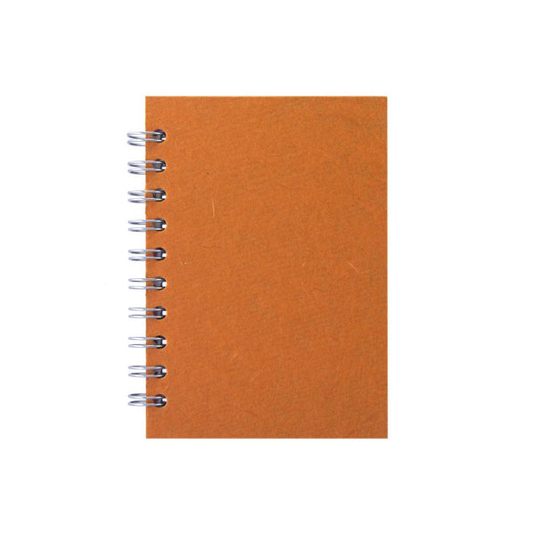 A6 Portrait, Orange Notebook by Pink Pig International