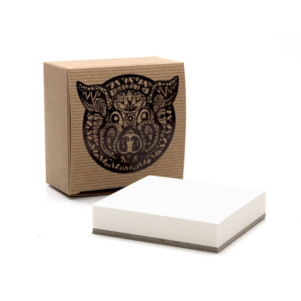 50 Zen Artist Tiles, White Card by Pink Pig International