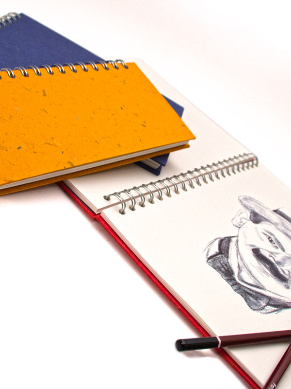 Off White Cartridge Paper Sketchbooks