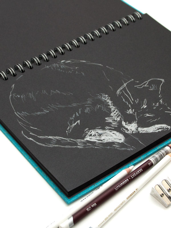 Black Paper Sketchbooks