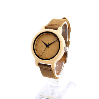 Natural Bamboo Couples Watches
