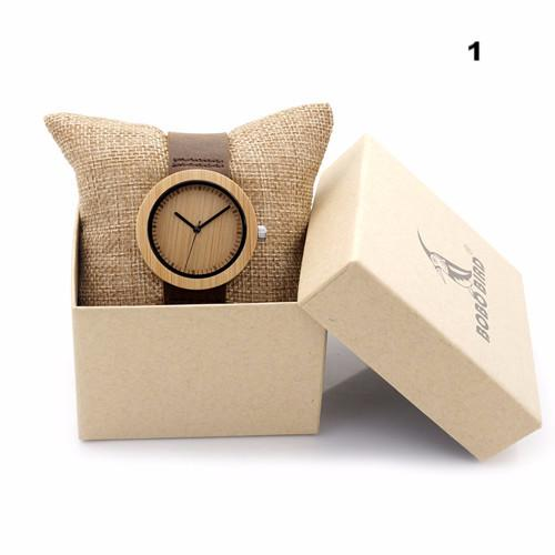 Wooden Bamboo Love Watch