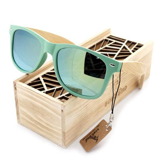 Handmade Natural Bamboo Wood Sunglasses - Minimal