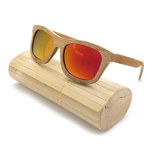 Handmade Natural Bamboo Polarized Sunglasses