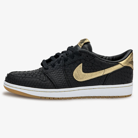 Air Jordan 1 Low Black Metallic Lux
