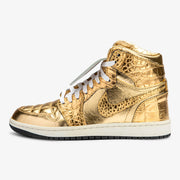 Air Jordan 1 High Gold Croc Velcro Tongue - Sample Sale