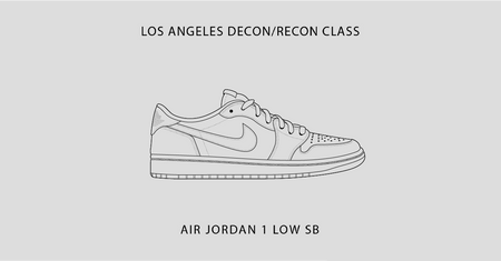 Los Angeles Class / Air Jordan 1 Low Sb / March 25th-28th, 2021