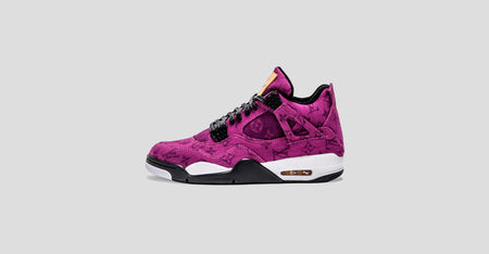 Air Jordan 4 Purple LV Denim Sample Sale