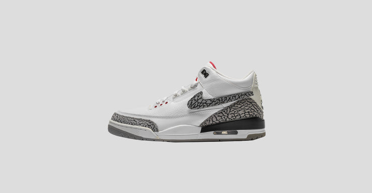 "White Cement ""All-Star"" Tinker Air Jordan 3"