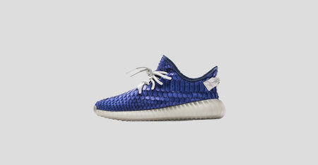 "LUX ""Dodgers"" Yeezy 350 V2"