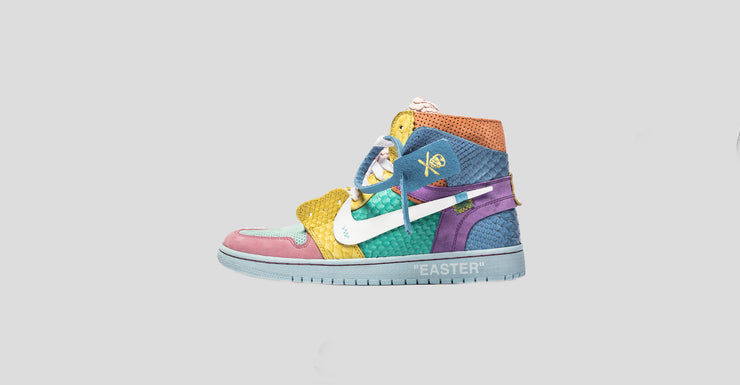 "F&F Lux ""Easter"" Air Jordan 1"