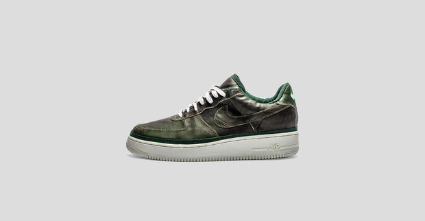 sports shoes 68ff7 14c9d Green Leaf Air Force 1
