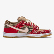 Red Vintage Bandana Burberry TS Dunk