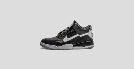 Black CDG Air Jordan 3 Tinker