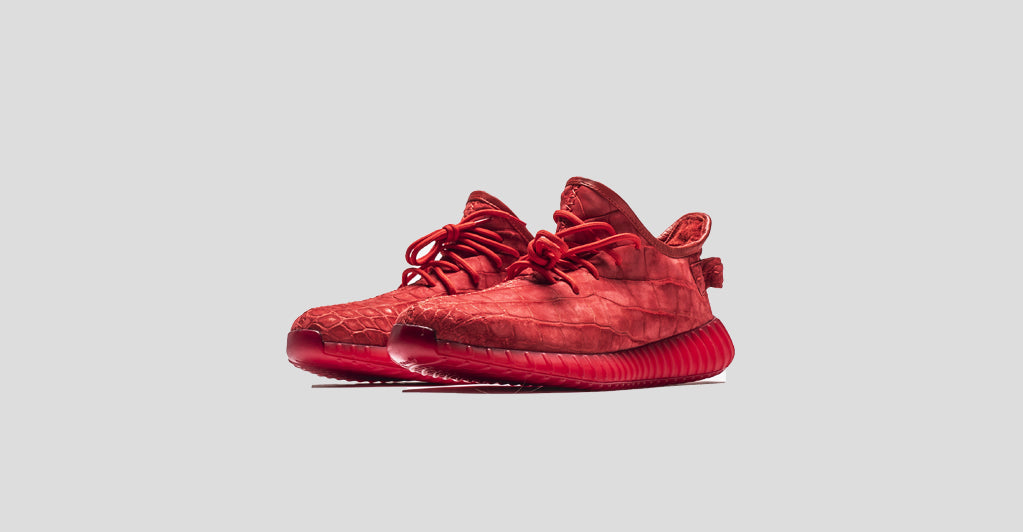 49fea9201b9f7 Red December Yeezy 350 V2 – The Shoe Surgeon