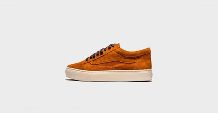"""Burnt Orange"" Vans Old Skool"