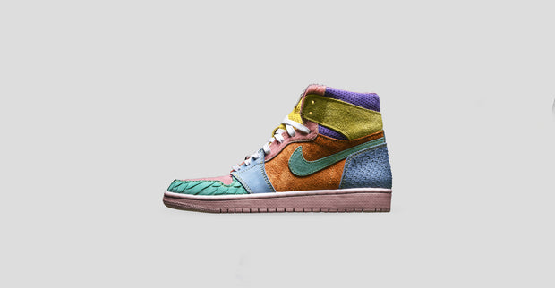 new style dab31 6905a What The Scrap Easter Air Jordan 1