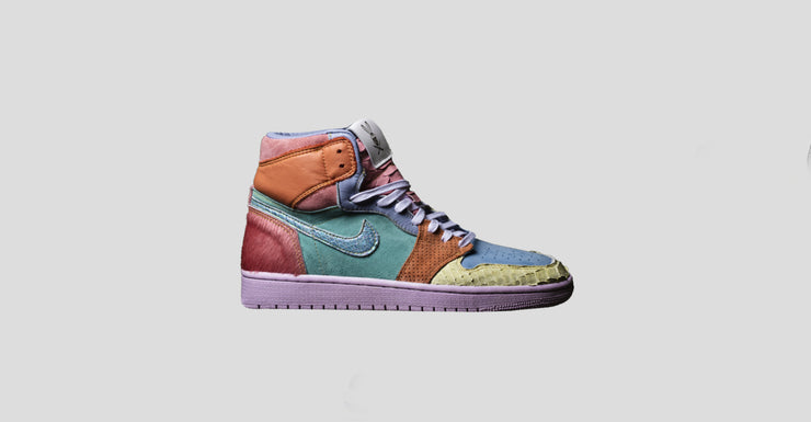 new style fdc74 54a04 What The Scrap Easter Air Jordan 1