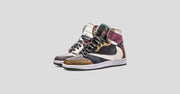 "Earth Tone ""Scrap Leather"" TS Air Jordan 1"