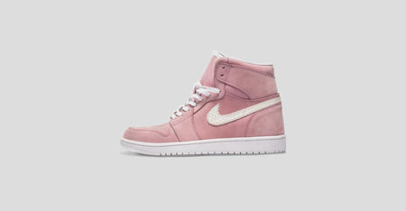 Pink Nubuck Air Jordan 1 Sample Sale