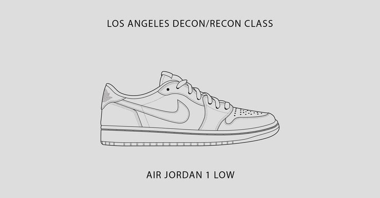 Los Angeles Class / Air Jordan 1 Low / October 1st-4th, 2020