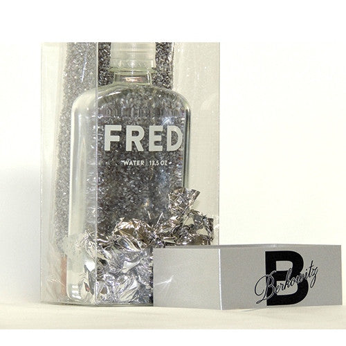 Clear Box With Personalized Silver Sleeve