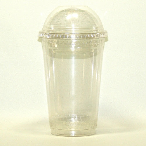 Cup with Topping Insert and Dome Lid