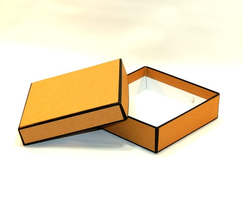 Small Kraft Two Tone Box