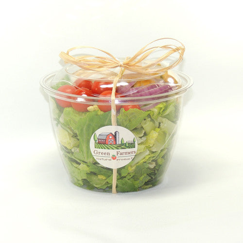 Farmer's fresh salad container